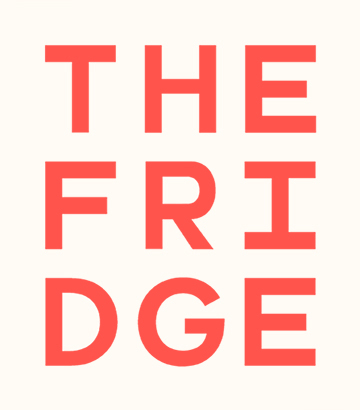 The Fridge Lab logo White