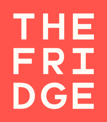 The Fridge Lab logo Red