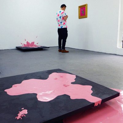 CROSSING POINT: PINK An Exhibition by Yasen Zgurovski and Stefan Ivanov